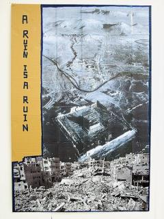 Thomas Hirschhorn · A Ruin is a Ruin, 2016, Poster, Collage auf Karton, Courtesy Galerie Susanna Kulli, Zürich ©ProLitteris