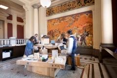 Musée Jenisch, Buchhandlung. Foto: Laurent Mäusli