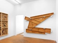 Emilie Parendeau · ‹Ça m'inquiète toujours ces sirènes (Prix culturel Manor Genève 2016›, Ausstellungsansicht. Foto: Annick Wetter