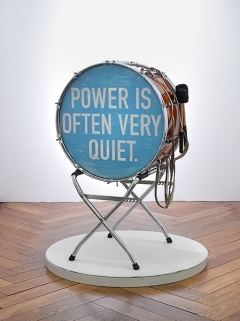 Dominik Stauch · Power ist often very quiet, 2016, Mixed Media
