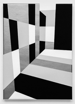 Rita Ernst · Spazio, 2016, Acryl auf Leinwand, 40x65 cm