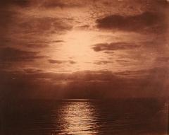 Gustave Le Gray · Effet de soleil dans les nuages - Océan, 1856-57. Foto: J.M. Protte