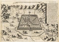 Der Garten Eden, aus: Athanasius Kirchner, Arca Noë, Amsterdam 1675
