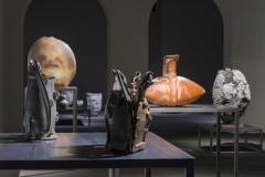Passionnément céramique: Collection Frank Nievergelt, 2016, Ausstellungsansicht Musée Ariana. Foto: Nicolas Lieber