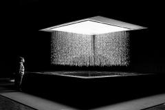 Shiro Takatani & Christian Partos · 3D Water Matrix. Production: Epidemic 2014. Commissioned by Cité des sciences et de l'industrie, Paris. Foto: Patrik Alac ©ProLitteris