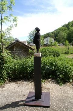 Irma Bucher · Wild Thing Transformed, 2016, Rosshaar und Stahl