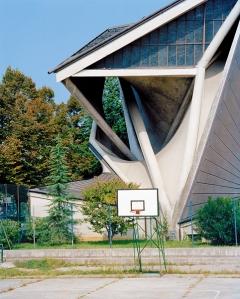Giuseppe Pizzigoni · Chiesa Santa Maria Immacolata, Bergamo, 1960-63. Foto: Werner Feiersinger