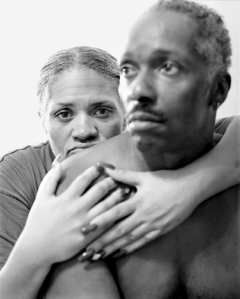 LaToya Ruby Frazier · Mom Holding Mr. Art, 2005, Courtesy Michel Rein, Paris/Brussels