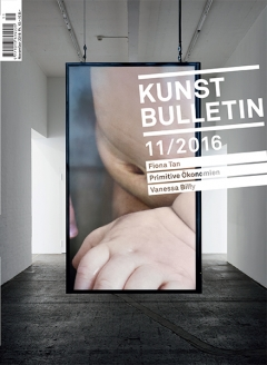 TITELBILD · Vanessa Billy · Living Memory, 2016 (Detail), Courtesy BolteLang, Zürich; Limoncello, London. Foto: Gunnar Meier