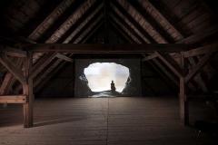 Judith Albert · Stream, 2016, Video, Installationsansicht, Nairs Zentrum für Gegenwartskunst, 2016 ©ProLitteris. Foto: Ralph Hauswirth