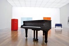 Bertrand Lavier · Ausstellungsansicht Kunstmuseum Liechtenstein, 2016, ©ProLitteris. Foto: Ines Agostinelli