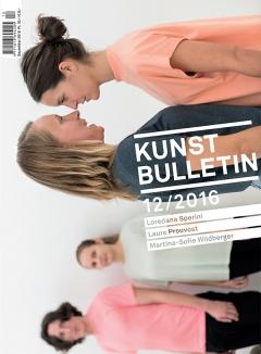 TITELBILD · Martina-Sofie Wildberger · Speak Up!, 2016, Performance mit Tobias Bienz, Denise Hasler, Tanja Turpeinen, sic! Raum für Kunst, Luzern. Foto: Dominik Zietlow
