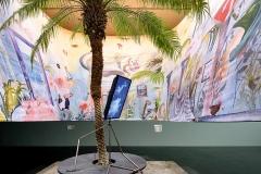 Vulcano Paradise, 2016, Installationsansicht, Kunstmuseum Luzern. Foto: Marc Latzel