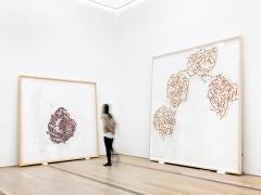 Roni Horn · lse 5, 2009, Or 7, 2013-15, Installationsansicht Fondation Beyeler, Riehen/Basel, 2016. Foto: Stefan Altenburger