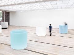 Roni Horn · Water Double, v.1, 2013-15, v.2 and v.3, 2013-16 (Detail), Installationsansicht Fondation Beyeler, Riehen/Basel, 2016. Foto: Stefan Altenburger