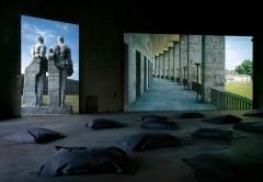 David Claerbout · Olympia, 2016, Echtzeitprojektion im Kesselhaus des KINDL Berlin ©ProLitteris. Foto: Jens Ziehe
