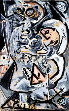 Jackson Pollock · Totem Lesson 1, Collection of Harry W. and Mary Margaret Anderson ©ProLitteris. Foto: Lee Fatheree