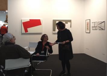 Ausstellungsansicht art Karlsruhe 2019, Halle 2 Galerie Klaus Braun, Foto copyright: Klaus Braun