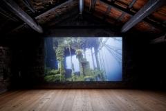 Julian Charrière · Iroojirilik, 2016, Video, 24'', Ausstellungsansichten Galerie Tschudi Zuoz ©ProLitteris
