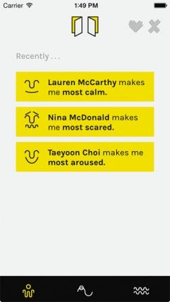 Lauren McCarthy und Kyle McDonald · pplkpr, 2015, App für iOs