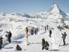 Simon Roberts · Gornergrat, Zermatt, 2016, aus ‹Fremdvertraut›, Courtesy Fotostiftung Schweiz