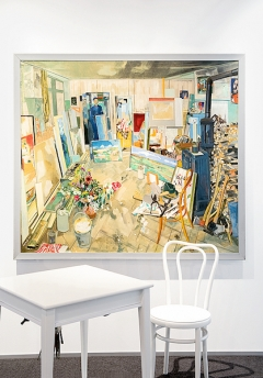 Coghuf (Ernst Stocker) · L'atelier, 1945, Ölbild