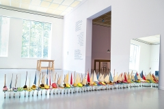 Francis Alÿs · Untitled (Don't Cross the Bridge Before You Get to the River), 2005-2009, Installationsansicht Kunsthaus Zürich. Foto: Caroline Minjolle