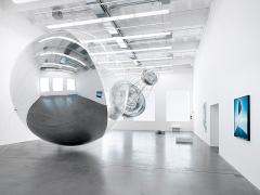 Aerosolar Journeys, Ausstellungsansicht Haus Konstruktiv, 2017. Foto: Stefan Altenburger