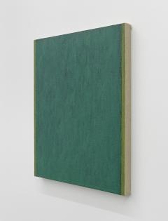 Phil Sims · Untitled Painting Green, 1977/78. Foto: Bernhard Strauss