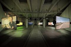 Pierre Bismuth · Where is Rocky II?, 2017, Installationsansicht Lokremise St.Gallen. Foto: Markus Mosmann