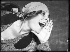 Alexander Rodtschenko · Porträt von Lilya Brik, 1924, Courtesy Puschkin Museum, Moskau ©ProLitteris