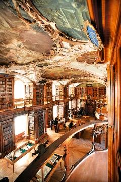 Barocksaal der Stiftsbibliothek St.Gallen