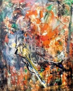 Hans Witschi · Schlafender Maler, 2016