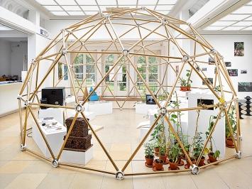 Christoph Draeger, Heidrun Holzfeind, From Without And From Within (The Auroville Project), 2017, Ausstellungsansichten Kunstpavillon. Foto: West.Fotostudio