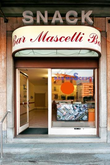 Ex-Bar Mascetti, Chiasso, ‹Al limite›, Paola di Bello e Giacomo Bianchetti (in collaborazione con il progetto «Frequenze»). Foto: Barbara Fässler