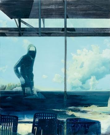Thomas Ritz · o.T., 2016, Pigment Acrylharz auf Leinwand