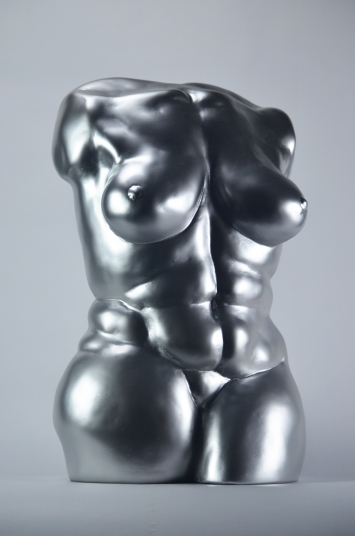 Woman forms II, Kunstharz-Guss 1/1, Höhe 42 cm