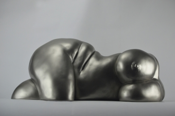 Landscape of sensuality, Kunstharz-Guss 1/1, Höhe 23 cm, Länge 56 cm