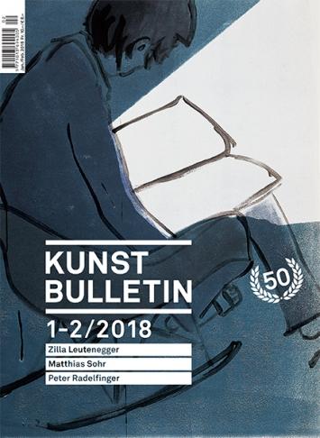 TITELBILD · Zilla Leutenegger · Little big sister, 2016, Monotypie auf Büttenpapier, 110,5 x 94 cm. Courtesy Galerie Peter Kilchmann, Zürich