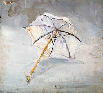 Varlin · Parasol de ma mère, 1938 © ProLitteris