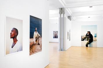 Georg Gatsas · Installationsansicht Kunstmuseum St.Gallen, 2017. Foto Sebastian Stadler