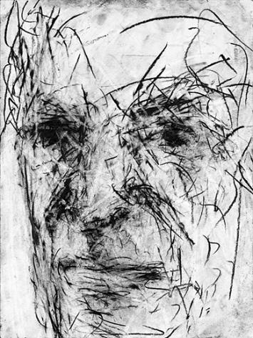 Giampaolo Russo · Porträt von Daniel, 2016, Graphit, 42 x 56 cm. Foto Giuseppe Michiché