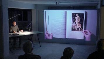 Stars, Lecture Performance, Dokumentationsansicht Kunstraum Kreuzlingen, 2017