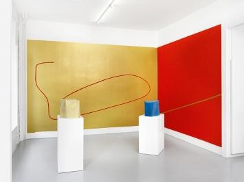 Hors sujet, 2018, Ausstellungsansicht Galerie Joy de Rouvre Genf © ProLitteris. Foto: Annik Wetter