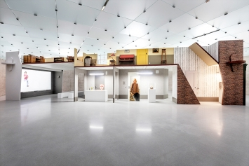 Hope House, 2018, Ausstellungsansicht 1. OG, Kunsthaus Bregenz. Foto: Markus Tretter