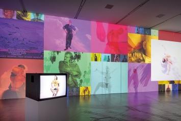 Charles Atlas · 2003, 2003/2018, 4-Kanal-Videoinstallation, Ausstellungsansicht Migros Museum für Gegenwartskunst, Courtesy Luhring Augustine, New York. Foto: Lorenzo Pusterla