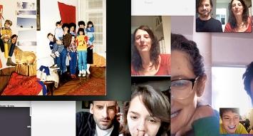 Die Wirklichkeit ist Collage und der Vergleich liegt auf der Hand: Über Monate hat sich das interdisziplinäre, schweizerisch-mexikanische Team um Julia Geröcs und Gabriel Studerus Ansichten aus dem Alltag zugespielt.