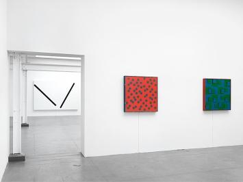 Gerhard von Graevenitz · Ausstellungsansicht Museum Haus Konstruktiv, 2018 © ProLitteris. Foto: Stefan Altenburger