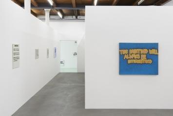 Retrospective, Gene Beery, Ausstellungsansicht, Fri Art Kunsthalle 2019. Photo:Guillaume Baeriswyl