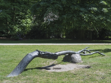 Giuseppe Penone, Progetto Pozzo di Münster [Fountain Project for Münster], 1987, Skulptur Projekte in Münster 1987, Foto: Hubertus Huvermann